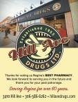 Thanks for voting Hill Ave Drugs Regina's BEST PHARMACY