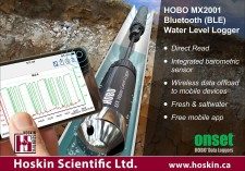 HOBO MX2001 Bluetooth (BLE) Water Level Logger