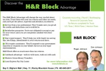 Discover the H&R Block Advantage