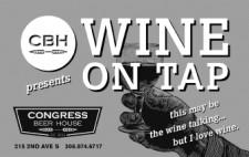 CBH presents WINE ON TAP