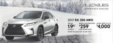 2017 RX 350 AWD at Lexus of Richmond