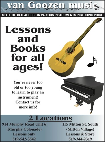 You're never too old or too young to learn to play an instrument!
