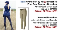 Assorted Breeches at Picov's