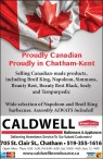 Proudly Canadian. Proudly in Chatham-Kent