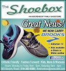 The Shoebox AN INDEPENDENT FAMILY SHOESTORE