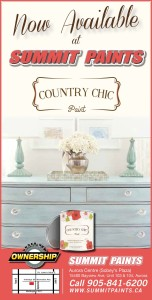 Now Available At Summit Paints  Country Chic Paint
