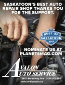 SASKATOON'S BEST AUTO REPAIR SHOP THANKS YOU FOR THE SUPPORT.