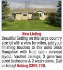 Beautiful Setting on this large country size lot