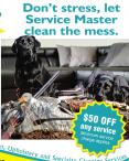 $50 OFF any service at Service Master Clean