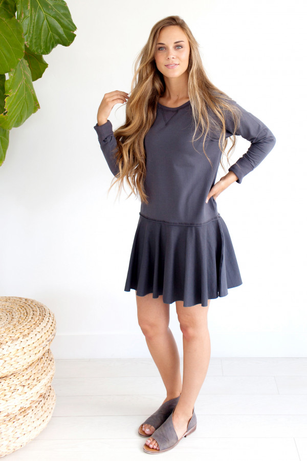 Last Minute Sweatshirt Dress
