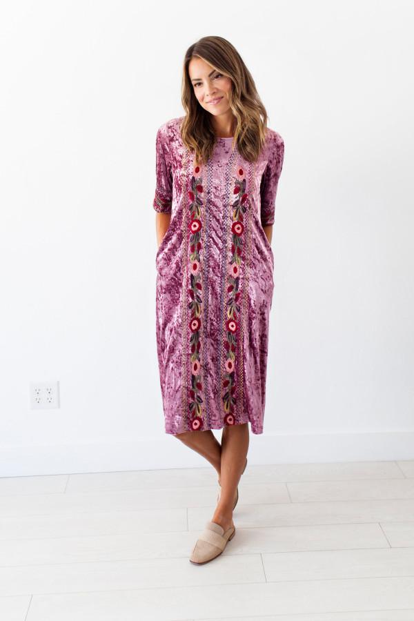 Velvet Jules Dress