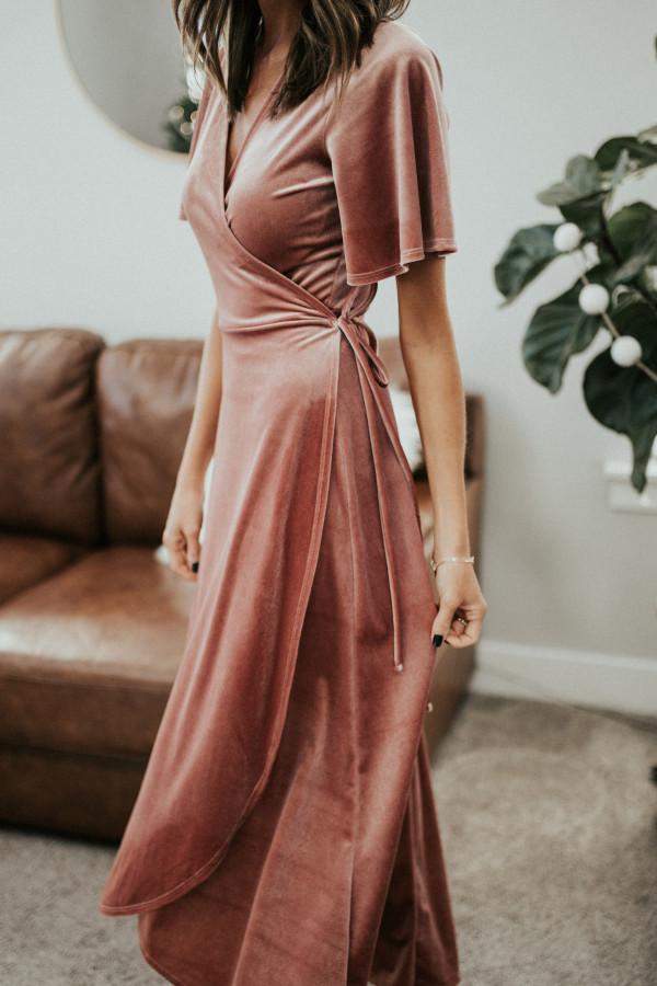 Head Over Heels Dress - Pink