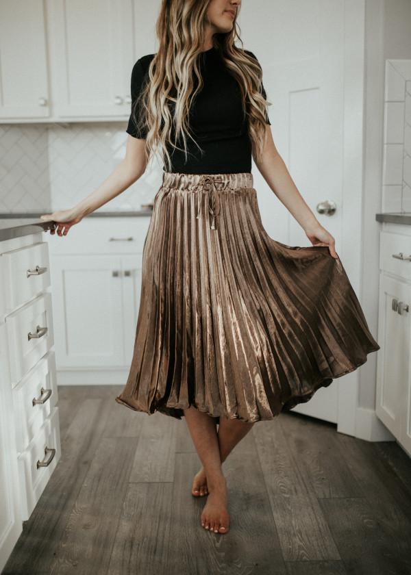 Bronzed Goddess Skirt