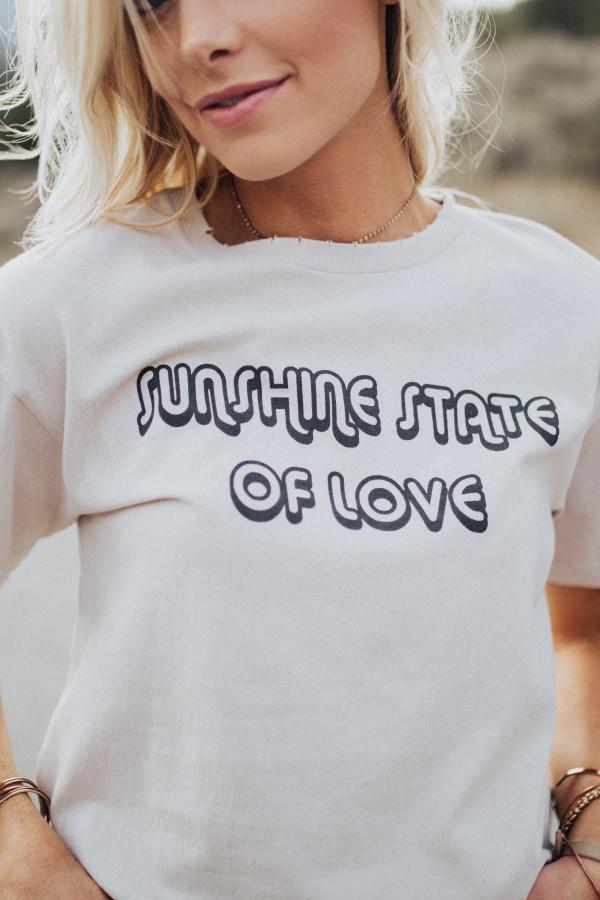 Sunshine State of Love Tee