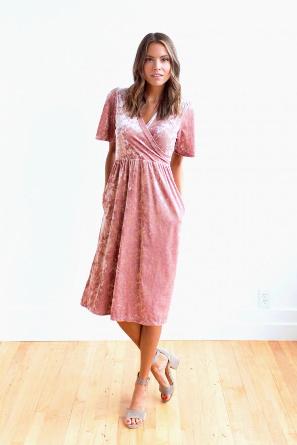 Viva La Velvet Dress