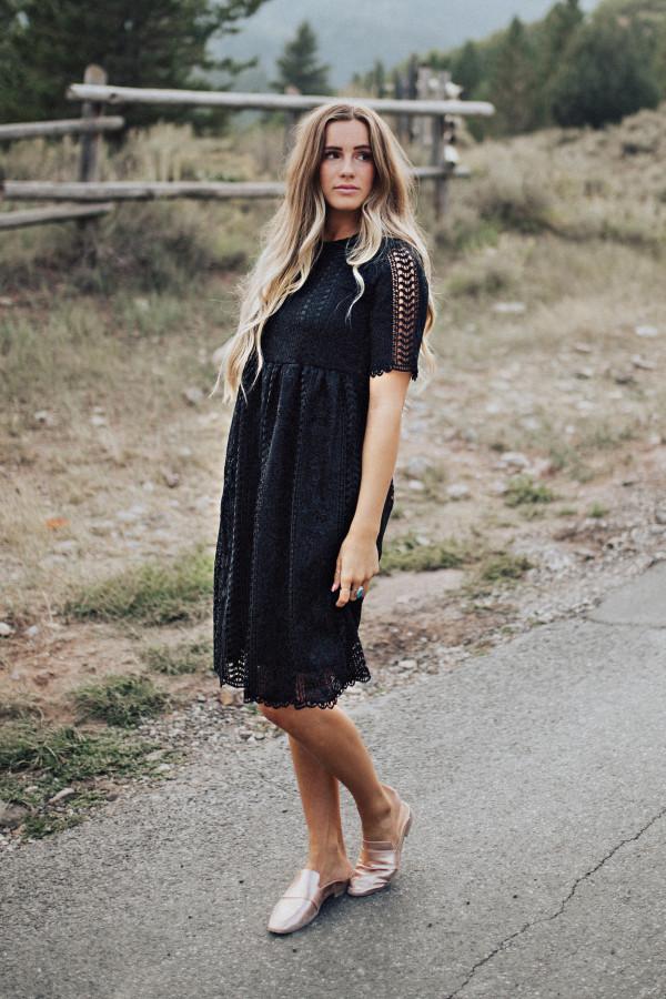 Avalon Dress (Black)