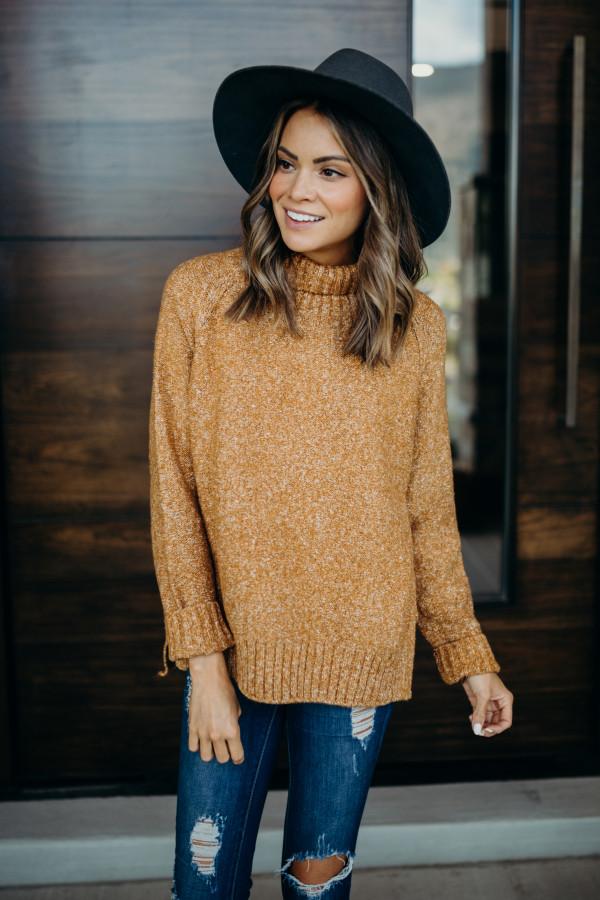 Sundown Sweater (Camel)