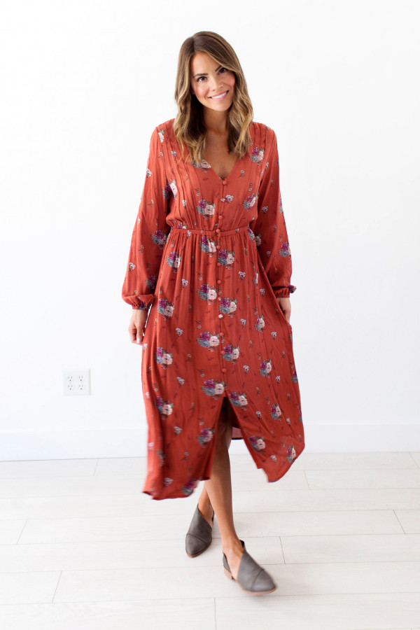 Autumn Cottage Dress
