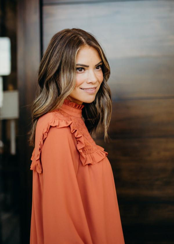 Emma Blouse (Rust)
