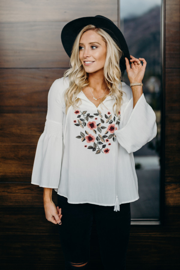 Stop & Smell the Flowers Blouse