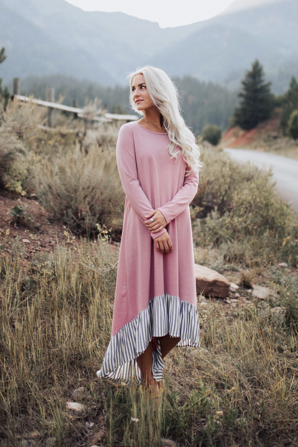 Secret Charm Dress (Pink)