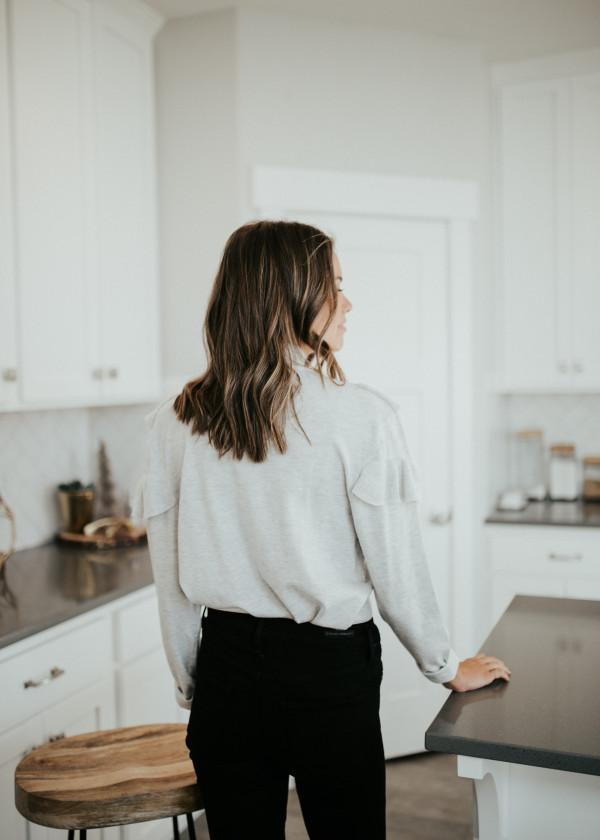 Avalon Sweater (Gray)