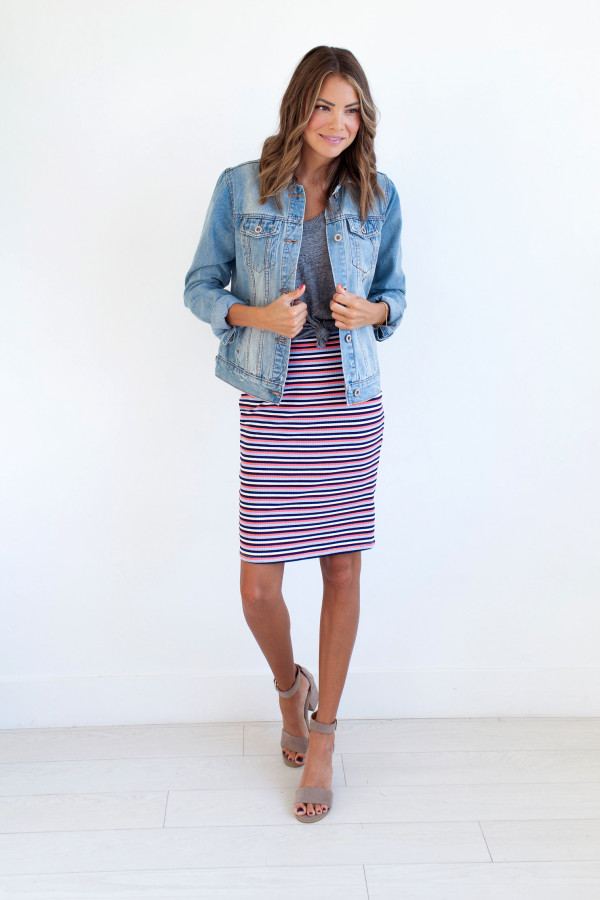 Rebel With A Cause Skirt