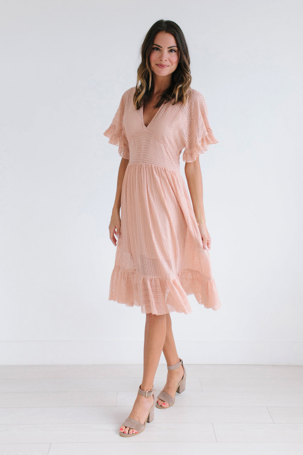 You Are Making Me Blush Dress