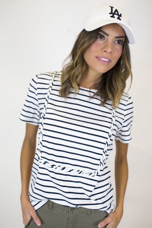 Stripes With A Twist Tee
