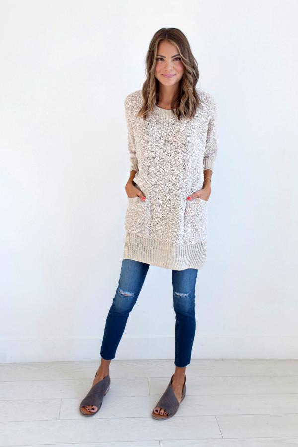 Keep It Cozy Sweater (Cream)