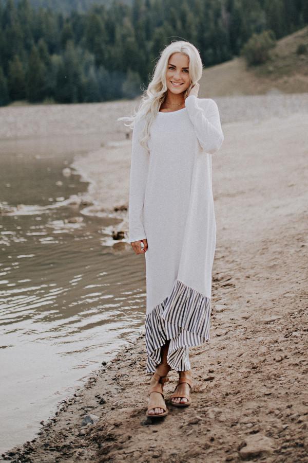 Secret Charm Dress (White)