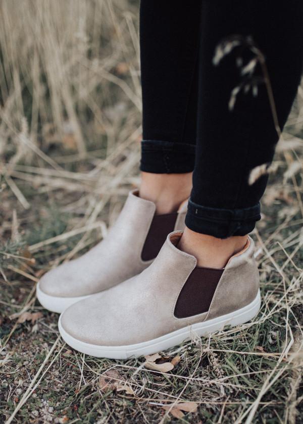 Gold Harlan Shoe