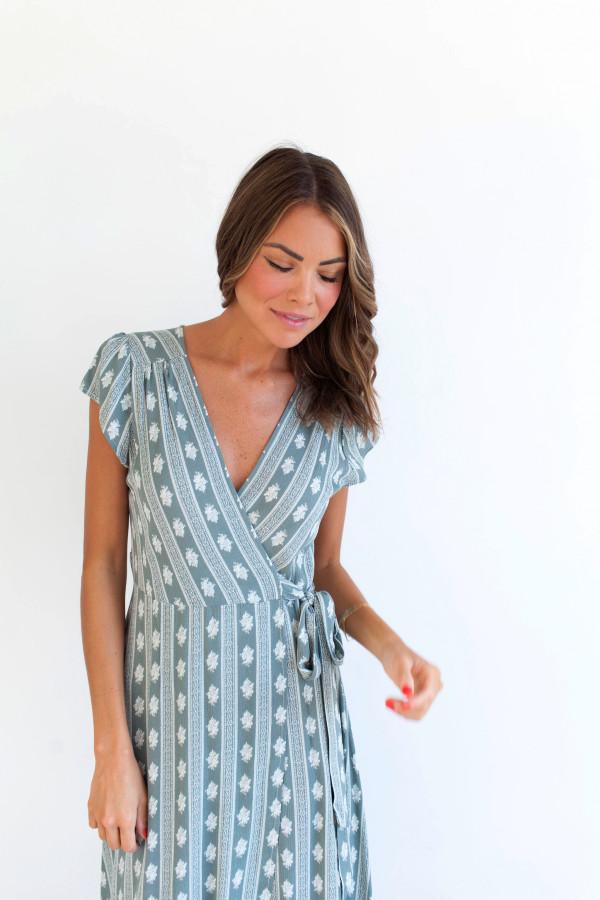 MG Dream Girl Dress (Olive)