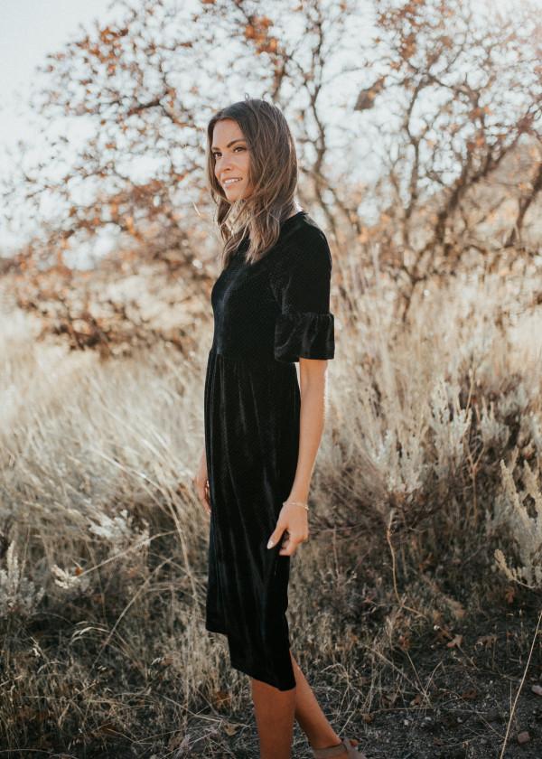 Velvet Connect The Dots Dress
