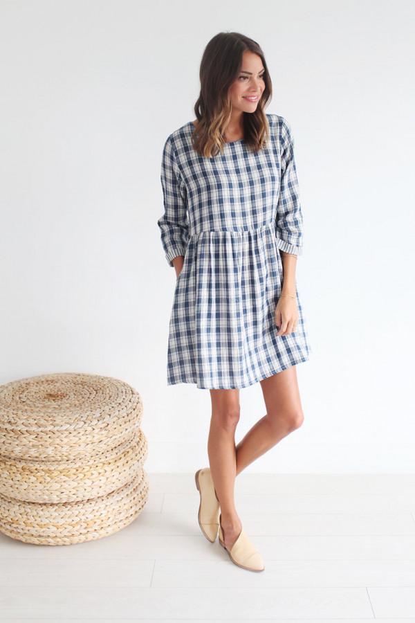 Essie Dress (Blue)