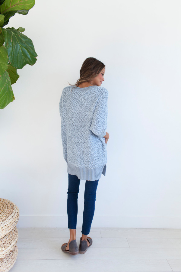 MG Keep It Cozy Sweater (Blue)