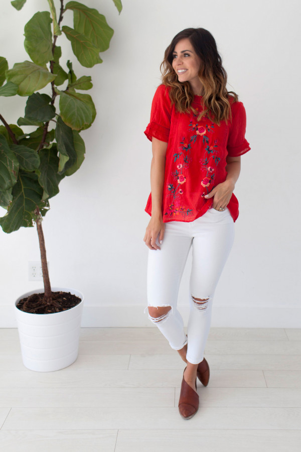 Blossom Top (Red)