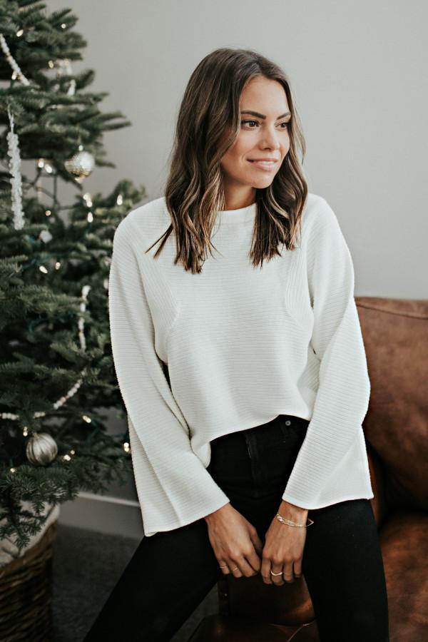 Kennedy Sweater (Cream)