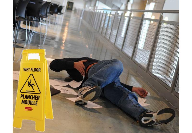 Image result for a wet floor sign