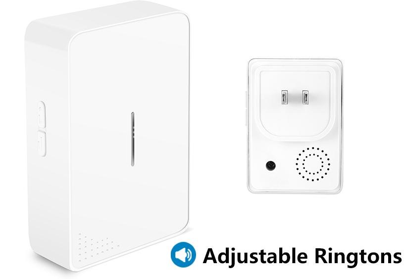 38 chime songs wireless doorbell self