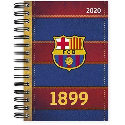 Agenda diária Barcelona 2020 20005 Spiral Bc PT 1 UN