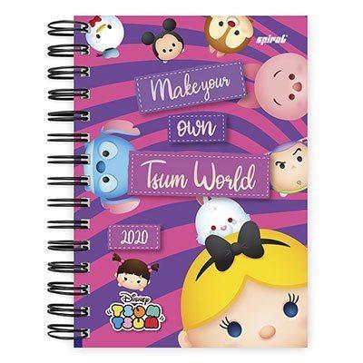 Agenda diária Disney Tsum Tsum 2020 20010 Spiral Tsum PT 1 UN