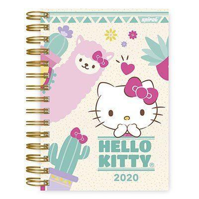 Agenda diária Hello Kitty 2020 20019 Spiral Hki PT 1 UN