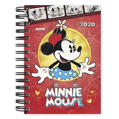 Agenda diária Minnie 2020 20052 Spiral Dm PT 1 UN