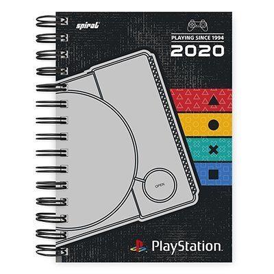 Agenda diária Playstation 2020 20037 Spiral Ps PT 1 UN