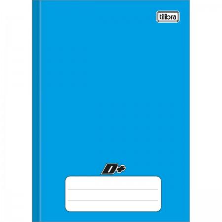 Caderno Brochura Capa Dura 1/4 D+ Azul 96 folhas 140mm x 200mm