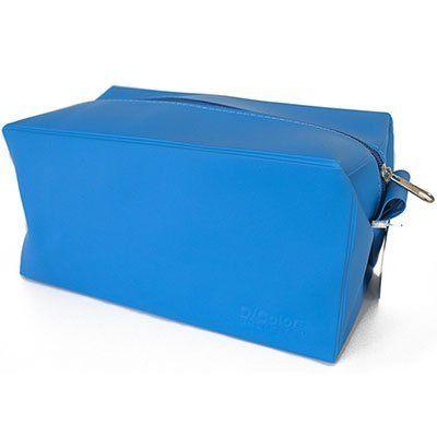 Estojo escolar pvc performace azul ST18-B Obi PT 1 UN