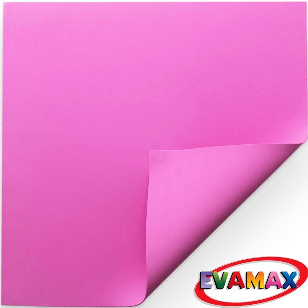 EVA placa Liso 48 X 40 cm - Rosa