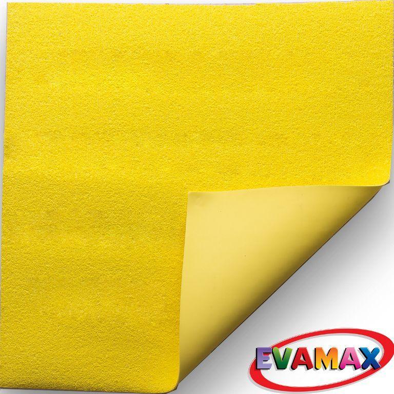EVA placa granel 48 X 40 cm - Amarelo