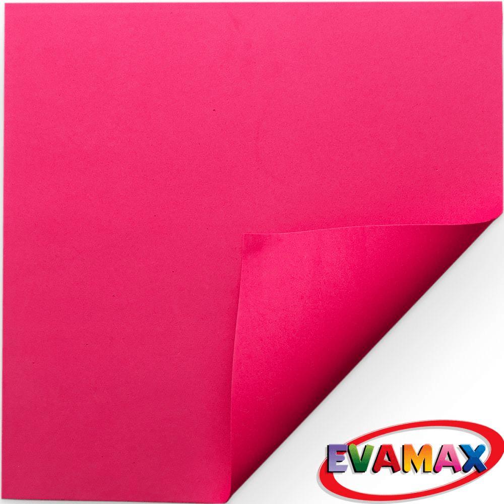 EVA placa Liso 48 X 40 cm - Vermelho